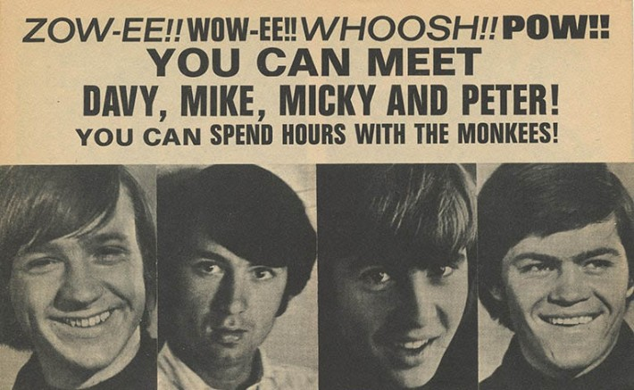 vintage Ad 16 Magazine Contest Meet the Monkees May 1967