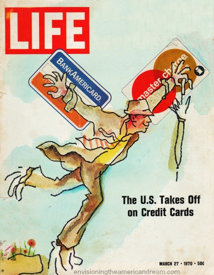 Life Magazine 1970 Credit Cards