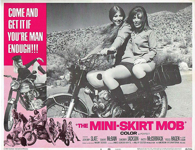 Vintage Movie Poster The Mini Skirt Mob