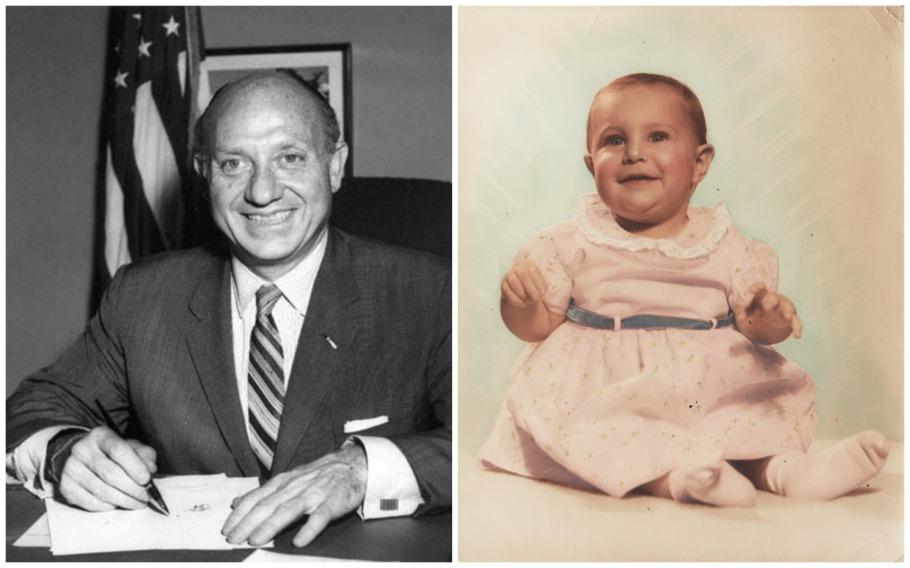 Jacob Javits Sally Edelstein baby