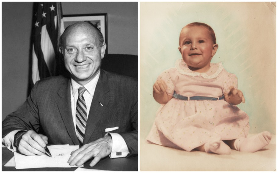 Jacob Javits Sally Edelstein baby