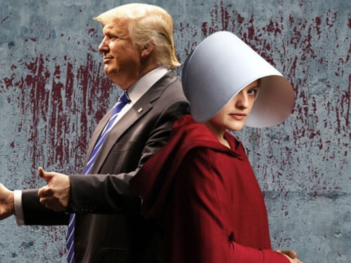 Trump and Handmaiden Tale