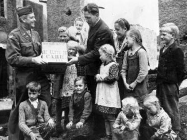 Post War Care Packages for European Children