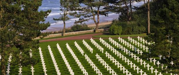 American Cemetary at Normandy France