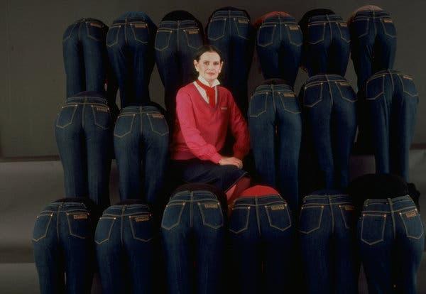 Gloria Vanderbilt and her jeans