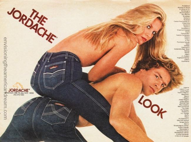 Vintage ad Jordache Jeans