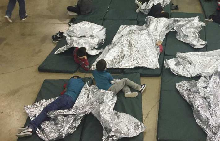 Migrant children in Detention Centers 2019