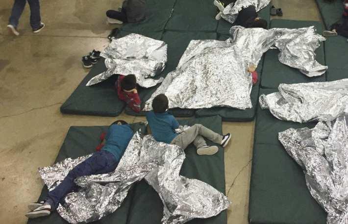Migrant children in Detention Centers 2019