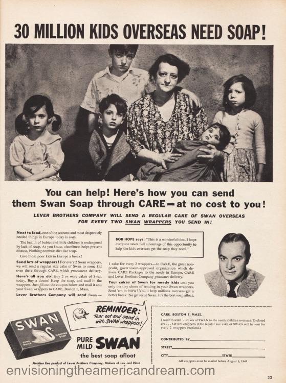 vintage ad 1946 soap