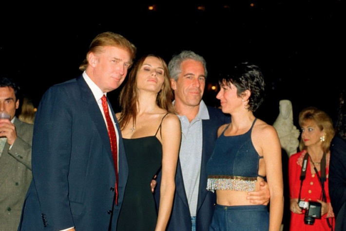 Donald Trumps, Jeffrey Epstein