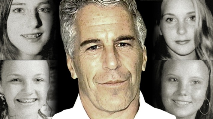Jeffrey Epstein and young girls