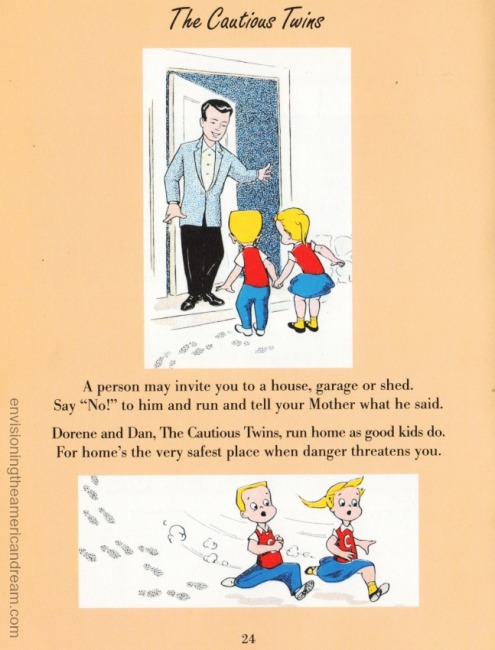 Vintage School Book Let's Be Safe