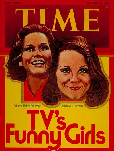 Time Magazine Mary Tyler Moore and Valerie Harper