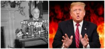 Fireside chat FDR fire Trump