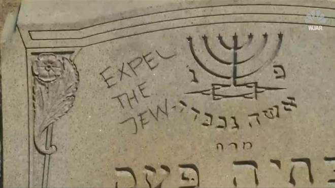 Anti Semitic Vandalism