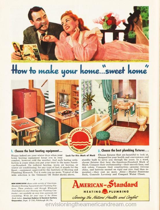 Vintage ad American Standard