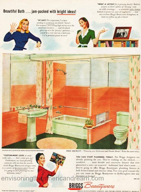 Vintage ad Briggs 1950s