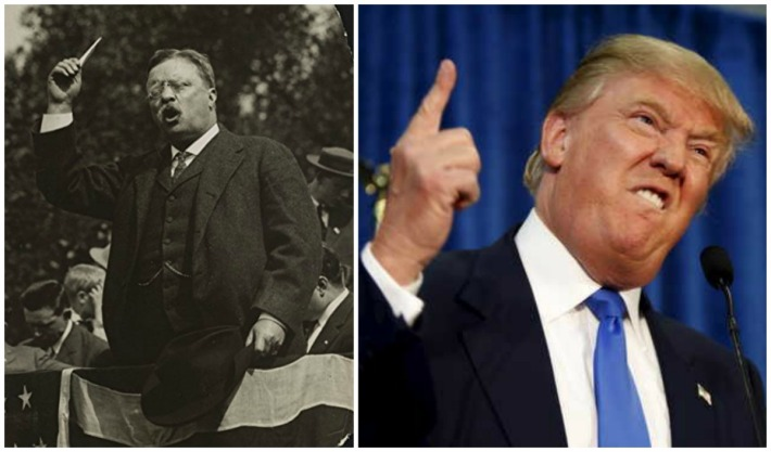 Teddy Roosvelt and Donald Trump