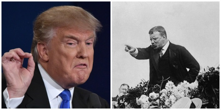 Donald Trump and Teddy Rooesvelt