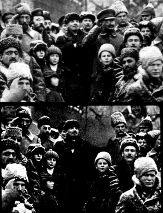 Altered Photo Lenin Soviets