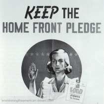 WWII Sacrifices Housewife