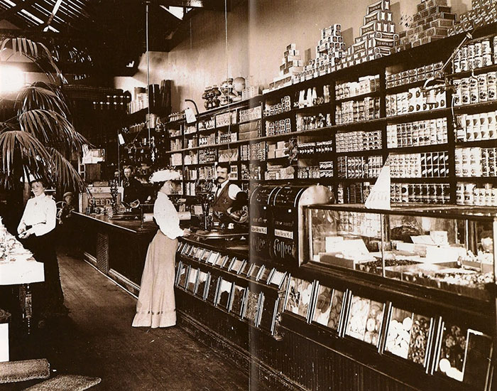 Turn of the century grocery store