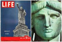 Statue of Libert Crying