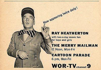 Vintage Ad Merry Mailman TV Show