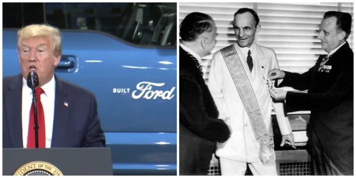 Trump and Henry Ford