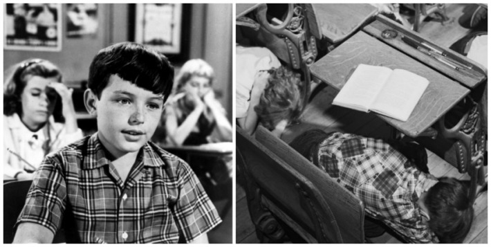 Jerry Mathers as the Beaver and Duck and Cover
