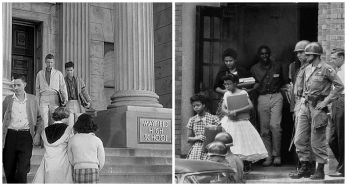 Leave it To Beaver Mayfield HS and Little Rock HS Students 1957