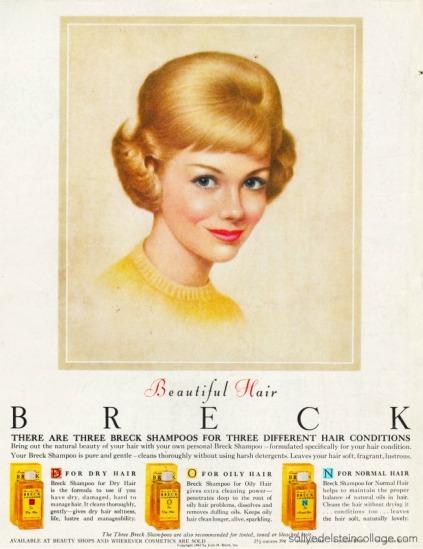 Vintage Breck ad 1962