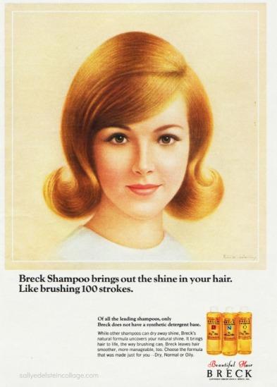 Vintage Breck Advertisement