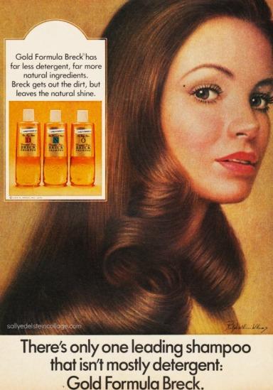 Vintage Breck Ad 1974