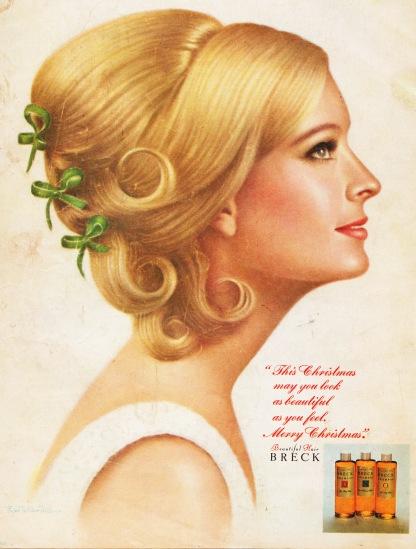 Vintage Breck ad 1967