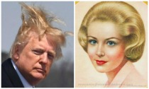 Donald Trump Haor Breack Girl