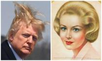 Donald Trump Haor Breack Girl