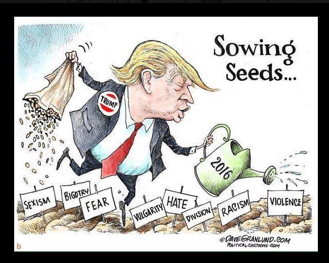 Trump Editorial Cartoon Dave Granlund 2016