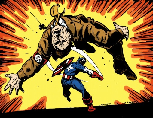 Marvel Comics The Greatest Superheroes of WWII