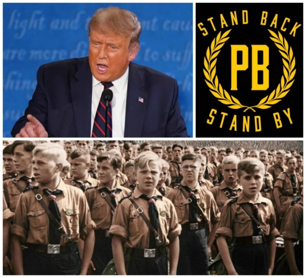 Trump, The Proud Boys, and Nazi Youth