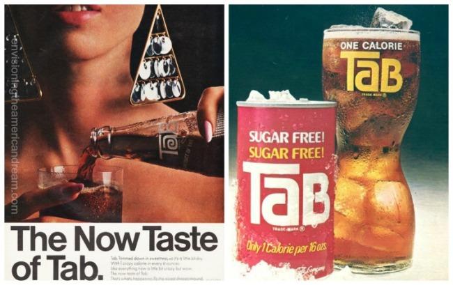Vintage ads for Tab 1960s