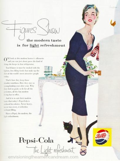 Vintage Pepsi Ad 1955