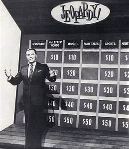 Art Fleming Original Host Jeopardy! 1960s