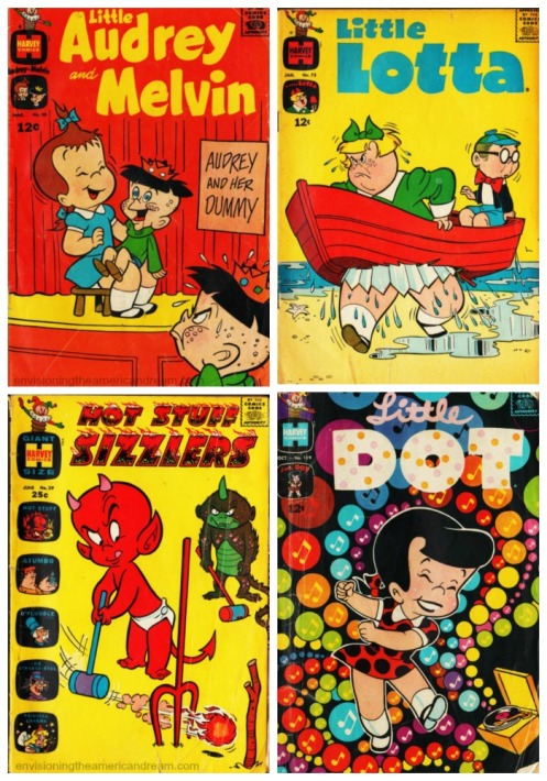 Vintage Harvey Comic books 1960's