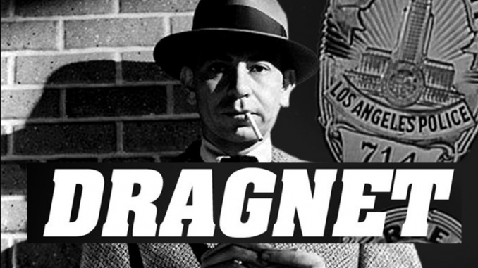 Jack Webb as Joe Friday Dragnet