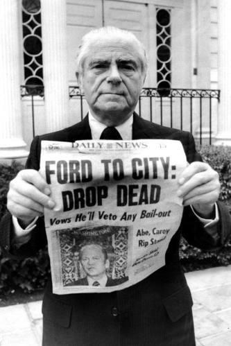 Mayor Abe Beame 1975