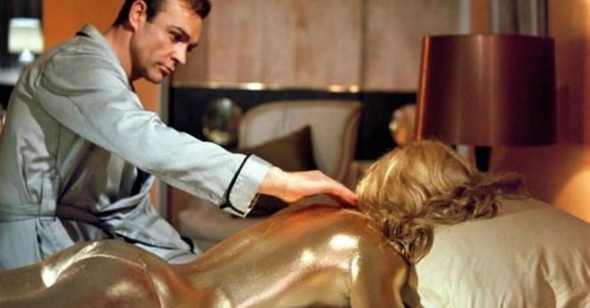 Sean ConneryJames Bond in Goldfinger 1964