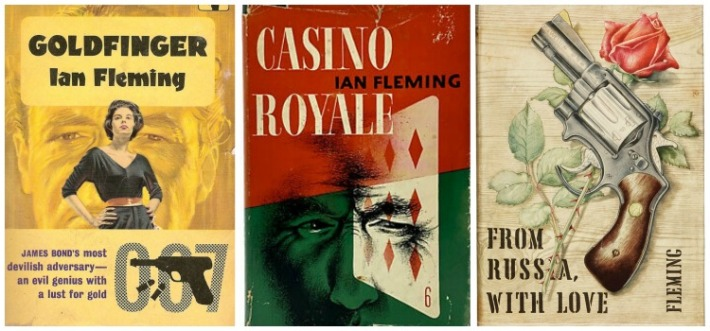 Ian Fleming James Bond Books.