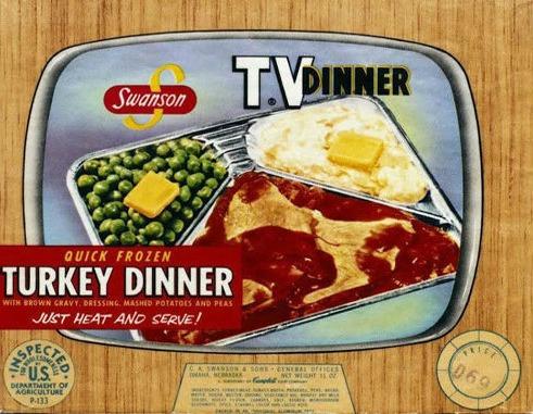 Swanson TV Dinner Boxe