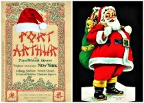 Chinese Menu, Santa Claus